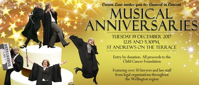 Counsel In Concert: Musical Anniversaries