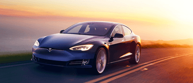 Take a Ride In a Tesla