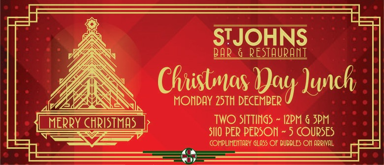 Christmas Restaurant Poster.Christmas Day Lunch