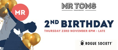 Mr Toms 2nd Birthday