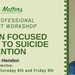 A Solution Focused Approach to Suicide Prevention