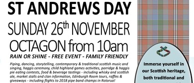 Celebrate Saint Andrews Day
