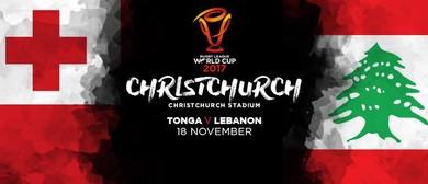 Rugby League World Cup 2017: Tonga vs Lebanon Quarter Final