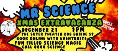 Mr Science Xmas Extravaganza