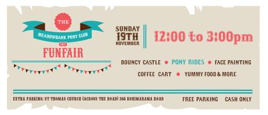 Meadowbank Pony Club Fun Fair