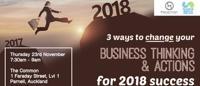 3 Ways to Change Your Business Thinking and Actions 2018