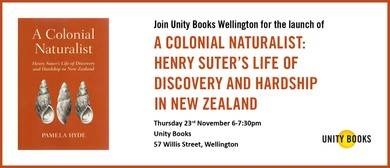 Launch - A Colonial Naturalist by Pamela Hyde