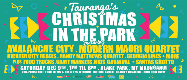 Tauranga's Christmas In the Park