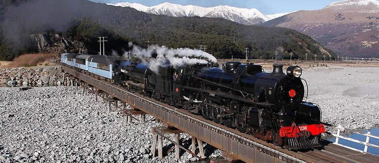 Whanganui Flyer - Steam Train Excursion