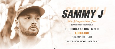 Sammy J - The Sleepwalker Tour