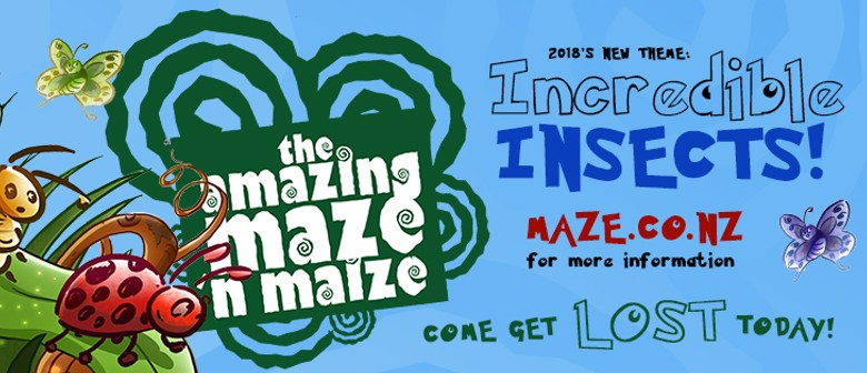 Amazing Maze N Maize - Incredible Insects 2018