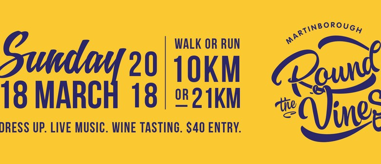 Martinborough Round the Vines Fun Walk/Run