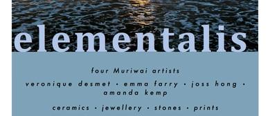 Elementalis Art Exhibition - Four Muriwai Artists