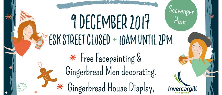 Invercargill City Centre Christmas Festival and Market
