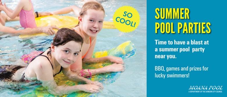 Summer Pool Parties - Mosgiel Pool