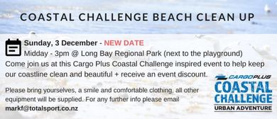 Love Your Coast - Coastal Challenge Beach Clean Up
