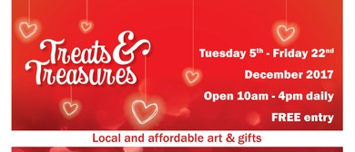 Hutt Art Christmas Treats and Treasures