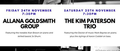 Live Jazz - Kim Paterson Trio