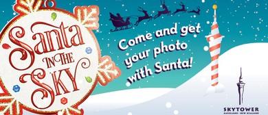 Santa In the Sky!
