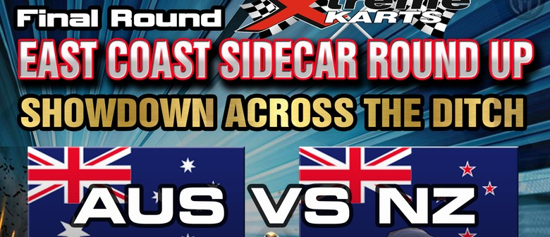 New Zealand V Australia Speedway Sidecar Shoot Out