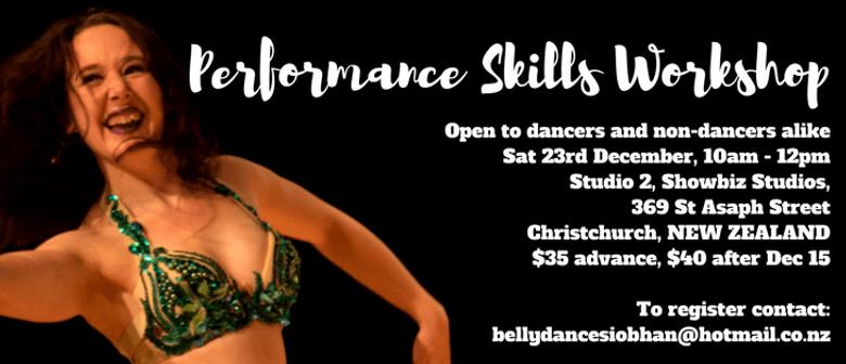 Performance Skills Workshop