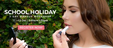 School Holiday 3-Day Makeup Workshop