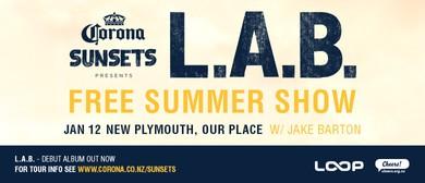Corona Sunsets Presents L.A.B. w/ Jake Barton
