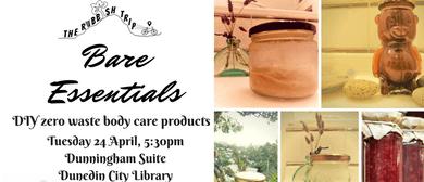 Bare Essentials: DIY Zero Waste Body Care Workshop