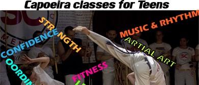 Teenagers Capoeira Classes Term 1