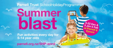 Tramp Champs - Parnell Trust Holiday Programme