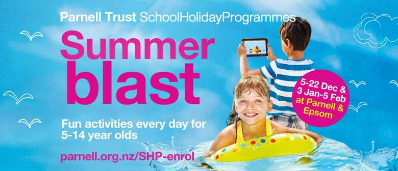 Hop, Skip and Jump - Parnell Trust Holiday Programme