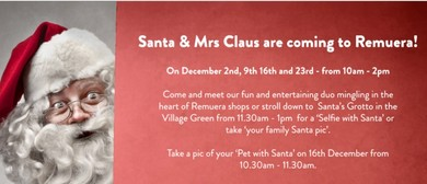 See Santa and Mrs Claus