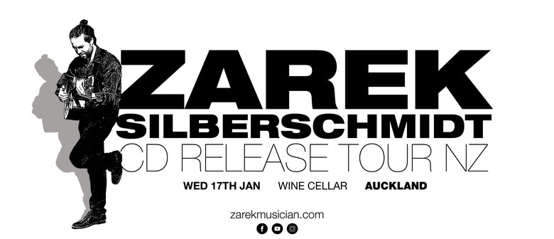 Zarek Silberschmidt & Cricket Farm CD Release Show
