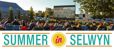 Spectrum Lighting and Sound Outdoor Family Movie