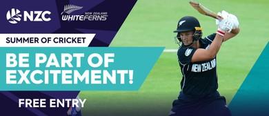 White Ferns v West Indies, 1st ODI