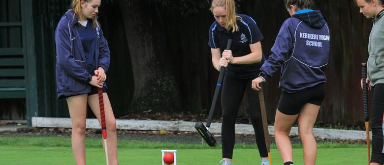 Golf Croquet Under 21 NZ Championships