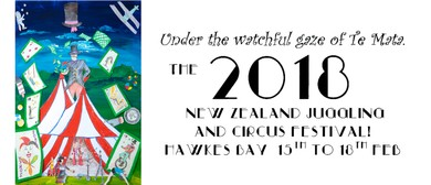 New Zealand Juggling and Circus Festival 2018