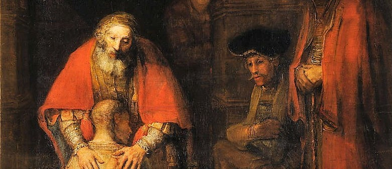 Rembrandt's Painting Return of The Prodigal Son