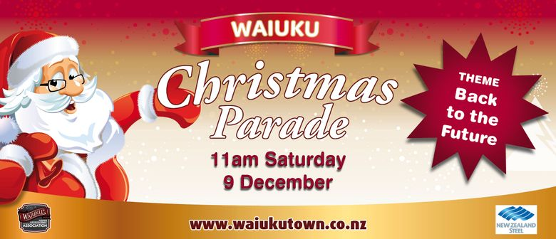 Waiuku NZ Steel Christmas Parade