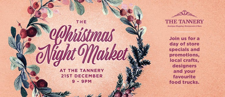 The Tannery Christmas Night Market