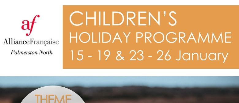School Holiday Programme Summer 2018