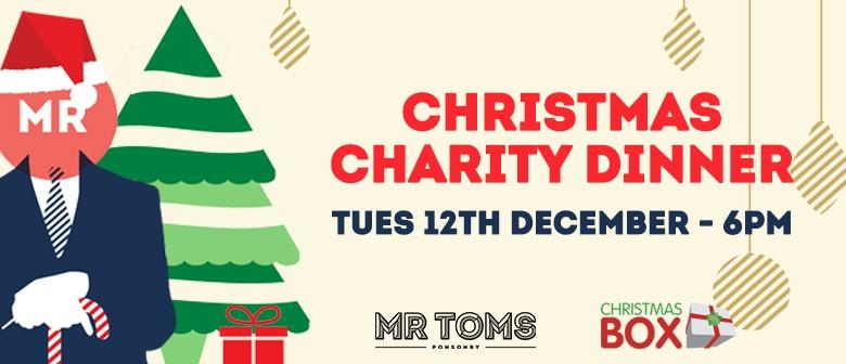 Christmas Charities.Mr Toms Christmas Charity Dinner