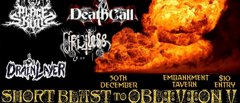 Metal Gig Pre New Year's