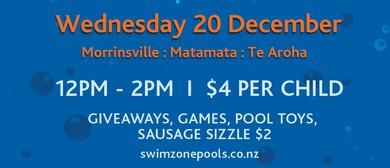 Swim Zone Pool Party