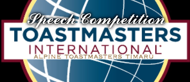 Toastmasters Speech Contest - All Welcome