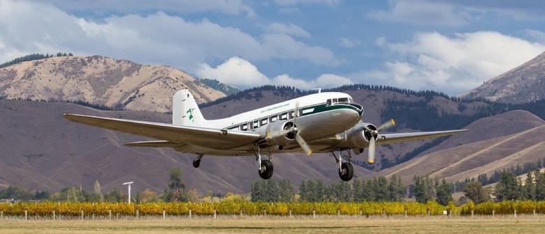 DC3 Scenic Flights - Vintage Whanganui 2018
