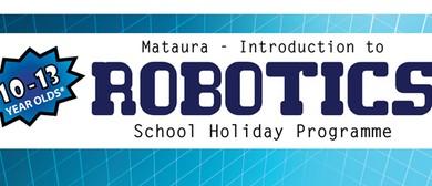 School Holiday Programme - Intro to Robotics