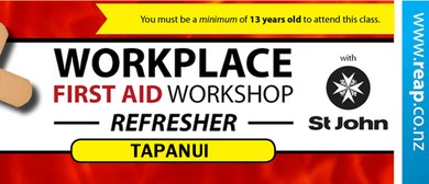 St John Workplace (Refresher) First Aid Training