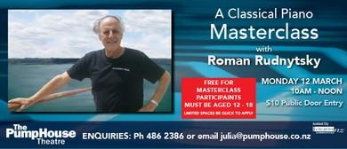 A Classical Piano Masterclass with Roman Rudnytsky