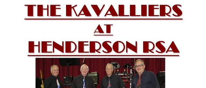 Friday Night Entertainment - The Kavaliers